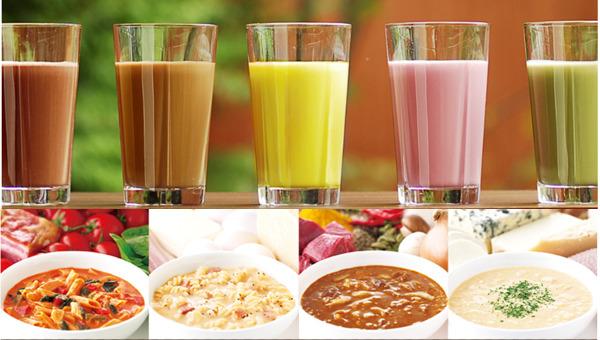 マイクロダイエットの飲み方 ドリンクタイプ リゾット&パスタ シリアルタイプ